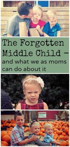 The forgotten middle child and what we as moms can do about it