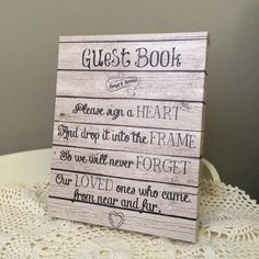 #Guestbook #signaheart #guestbooksign #guest #weddingguestbook #anniversaryguestbook A personal favorite from my Etsy shop https://www.etsy.com/listing/268012062/guest-book-sign-wedding-jar-heart-sign
