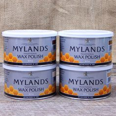 MYLANDS WAX Myland's Wax applies easily, buffs to a nice sheen and has a pleasant odor. We highly recommend Myland's waxes. Because after the distillates evaporate, you are left with a non-toxic finis