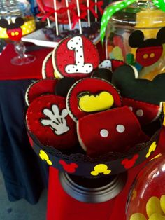 Mickey Mouse Birthday Party Ideas | Photo 6 of 26 | Catch My Party