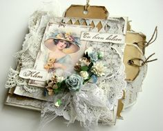 Wonderful card, from Heidi...and opens to great BlogSpot with multiple designers