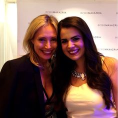 With #BCBG Creative Director Lubov Azria. #Spring13 Such a great collection! #saks #balharbourshops