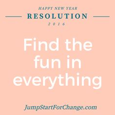 Keeping in line with New Year's Resolutions, I'd like to share a few of mine this week. This one tops the list!