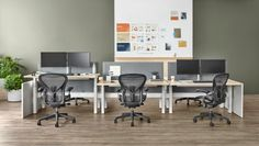 Herman Miller has just unveiled the next evolution of its Aeron chair. The Aeron is known across the world as one of the best and most popular office chairs. Best Office Chair, Most Comfortable Office Chair, Office Chairs, Wrought Iron Patio Chairs, Metal Chairs, Leather Chairs, Herman Miller Aeron Chair, Work Chair, Chairs For Rent