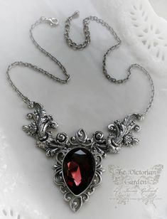 ENIGMA NeoVictorian gothic wedding necklace by TheVictorianGarden