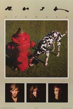 Rush Signals Album Cover with Band Pics Music Poster 24x36 – BananaRoad