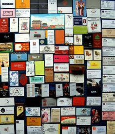 cartes daffaires qr codes pinterest business cards