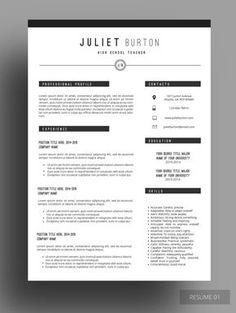 Latest Resume Format For Teachers Free Resume Template  Resume Design  Pinterest  Perfect Resume