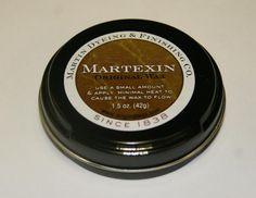 Martexin Orignal Wax Refinishing Compound- oz The perfect size for customer touch up and re-application. A special formula of our Martexin Original Wax designed for ease of application using minimal heat. Vegan Handbags, Breakfast Nook, Commercial, Cool Designs, Fragrance, How To Apply, Canning, The Originals, Waxed Canvas