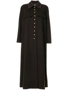 Chanel - Vintage button up long coat