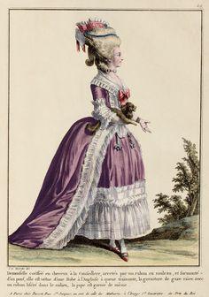 Robe à l'anglaise 1779 ca.