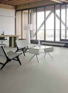 Strakke, eenvoudige vinyl/marmoleum vloer