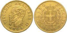 NumisBids: Numismatica Varesi s.a.s. Auction 65, Lot 659 : SAVOIA - VITTORIO EMANUELE II (1861-1878) 10 Lire 1863 Torino. ...