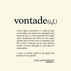 Vontade - João Doederlein