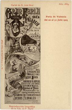 Reproducció del cartell anunciador de l'any 1889