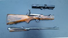 Take Down Mauser Magnum Action in .416 Rigby by Harald Wolf