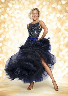 Natalie Lowe, strictly come dancing 2014 official photo Strictly Come Dancing, Strictly 2014, Home And Away Actors, Seven Network, Ricky Whittle, Hollyoaks, Strapless Dress Formal, Formal Dresses, Professional Dancers