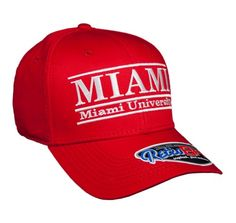 Miami of Ohio Large Retro Color Bar Hat