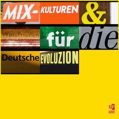 """""""Mix-Kulturen & Waldfrieden für die Deutsche Evoluzion""""   #bloggerfuerfluechtlinge #urbanpoetry #berlin #wien #zürich"""