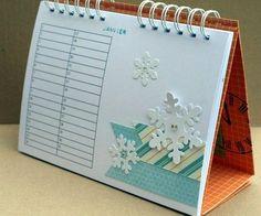 Mini Albums, Album Diy, Personalised Calendar, Diy Scrapbook, Christmas Diy, Blog, Notes, Support, Crafts