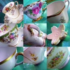 Tea Cups by stelladanza's confections, via Flickr