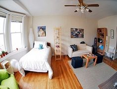 Studio Apartment Organization brooklyn studio apartment 150 square feet tiny | spaces