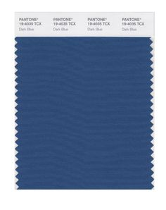 PANTONE SMART 19-4024X Color Swatch Card, Dress Blues - Amazon.com
