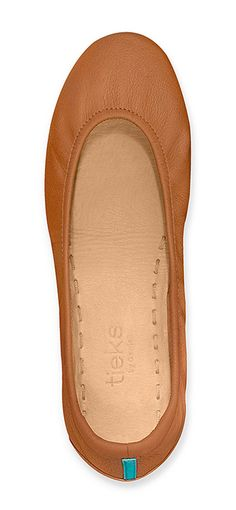 Take a step beyond basic in Chestnut Tieks. The rich brown color adds understated elegance to any look!