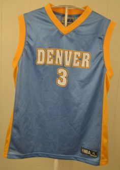222d0ed722a Denver Nuggets Jersey #3 Ty Lawson NBA Youth Kids XL (14-16) Blue #NBAStore  #DenverNuggets