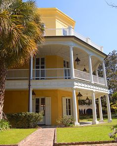 William Aiken House ~Charleston, South Caroline.  Ahh, yes...where I spent many a summer day working weddings :)