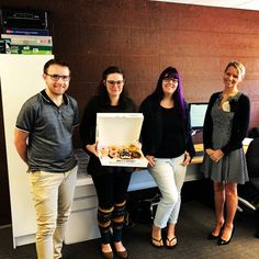 DCEQ Office team in our Albion Office. Our CCTV cameras and quick action helped a woman in a predicament. Donuts as a thank you were a nice way to start our Friday! 🍩🍩   DC Electrical provides full electrical services for domestic & commercial. ⠀  We have electrician's available 24/7.⠀ ⠀ Call Us On : 1300 707 694⠀ Or Email Us Today : service@dceq.com.au⠀ ⠀ Servicing Brisbane & Surrounding Areas (from Gold Coast to Sunshine Coast & out West to Toowomba) Office Team, Sunshine Coast, Gold Coast, Conditioning, Brisbane, Donuts, Cameras, Commercial, Friday