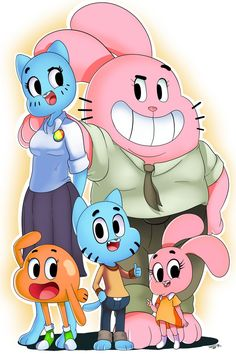 The Amazing World of Gumball by WaniRamirez on DeviantArt