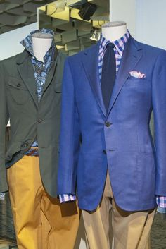 Color and Novelty Take the Spotlight at Pitti Uomo (Luciano Barbera)