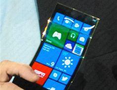 Un video per lo smartphone con display flessibile di Samsung