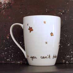 "Firefly ""you can't take the sky from me"" Handpainted Porcelain Mug"
