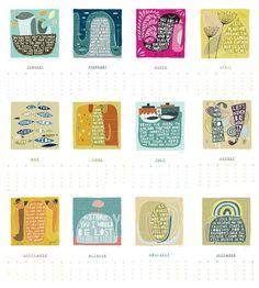 calendar, Freya Art