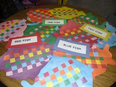 one fish two fish red fish blue fish activities - Google Search