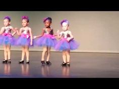 Love, love, love this little dance star. She is so perfectly marching to her own drum. I hope she never changes. ENJOY!