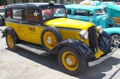 1933 Plymouth Sedan Taxi