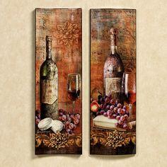 Grapes of Venice Wall Panel Set