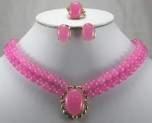 High-quality Lovely Jewelry 18K Gold Plated word Fine Charming Luxurious Pink Jade Ring Stud Earrings Necklace Pendant Set style,   Engagement Rings,  US $29.62,   http://diamond.fashiongarments.biz/products/high-quality-lovely-jewelry-18k-gold-plated-word-fine-charming-luxurious-pink-jade-ring-stud-earrings-necklace-pendant-set-style/,  US $29.62, US $23.10  #Engagementring  http://diamond.fashiongarments.biz/  #weddingband #weddingjewelry #weddingring #diamondengagementring…