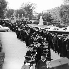 #Baylor commencement, circa 1960s. #BUgrad13 (via @bayloruniversity on Instagram)