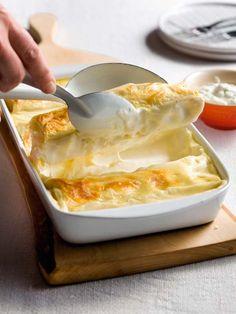 Cannelloni poireaux-saumon | Spar