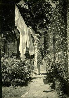 washing clothesline