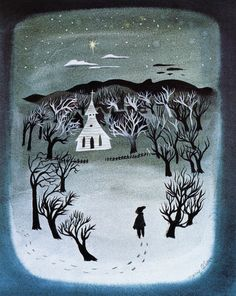 Visual Development from So Dear to My Heart by Mary Blair