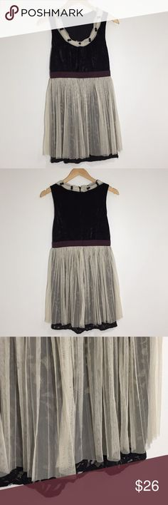 Ryu Velvet and Tulle Vintage Inspired Dress Beautiful dress in excellent used condition.  No flaws. Ryu Dresses