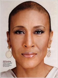 Robin Roberts...love this woman! She is a pillar of strength!