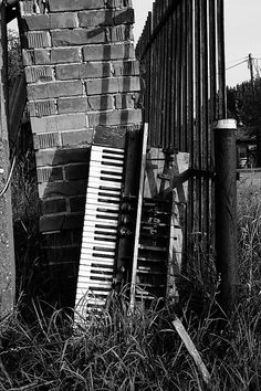 The abandoned piano