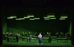 Pique Dame. A co production between Zurich Opera and Opera National du Rhin. Production by Robert Carsen. Sets by Michael Levine.