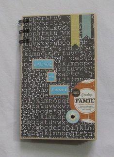 """scrap atelier : mini album """"balade en forêt"""" - Vive le scrapbooking ! (blog, ateliers, vente créations)"""
